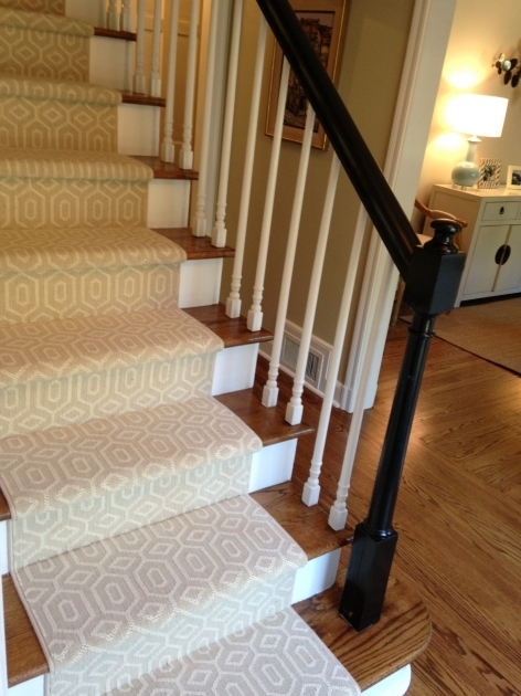 Hardwood Stairs Slippery Choosing A Stair Runner Some Inspiration Pic 07