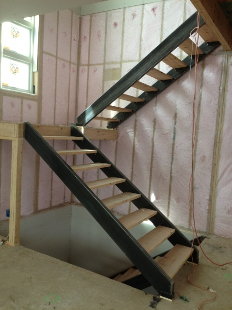 Interior Stair Stringers Custom Steel Stair Stringers Reinforcement Of Concrete Stairs Pictures 58