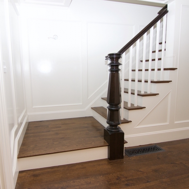Oak Staircase White Spindles Hardwood Staircases Photos 21