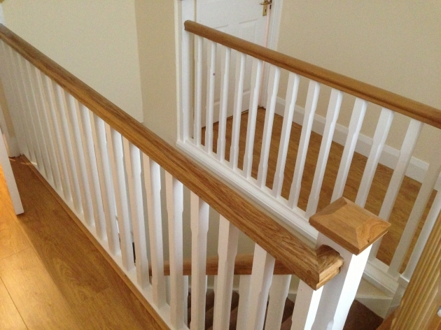 Oak Staircase White Spindles John Glendon Carpentry Picture 08