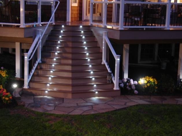 Outdoor Stairs Lighting Elegant Led Design Images 04