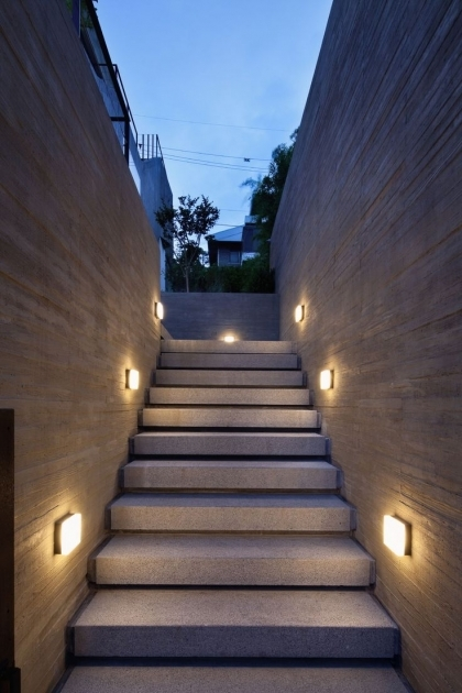 Outdoor Stairs Lighting Ideas Led Pics 39