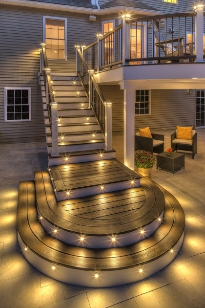 Outdoor Stairs Lighting Stairs On Pinterest Wrought Iron Railings Picture 70