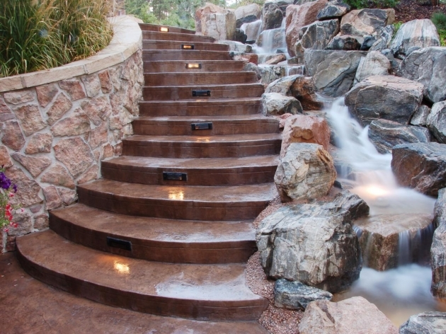 Outdoor Stairs Lighting Wrona Outdoor Staircase Pictures 99