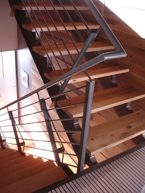 Stair Handrail Height Guardrails Design Criteria Building Codes And Installation Photos 40