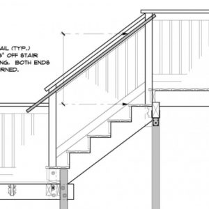 Stair Handrail Height