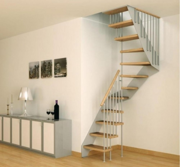 Staircase Designs For Small Homes Modern Minimalist Style Images 79