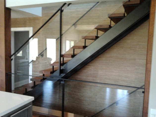 Staircase Glass Railings Contemporary Design Pictures 05
