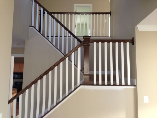 Staircase Spindles Wood Custom Railings And Handrails Images 66