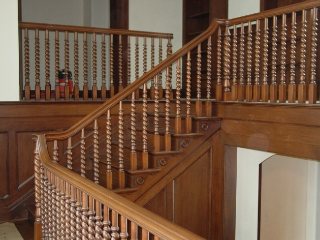 Staircase Spindles Wood Stairway Balusters Stair Design Ideas Pics 54