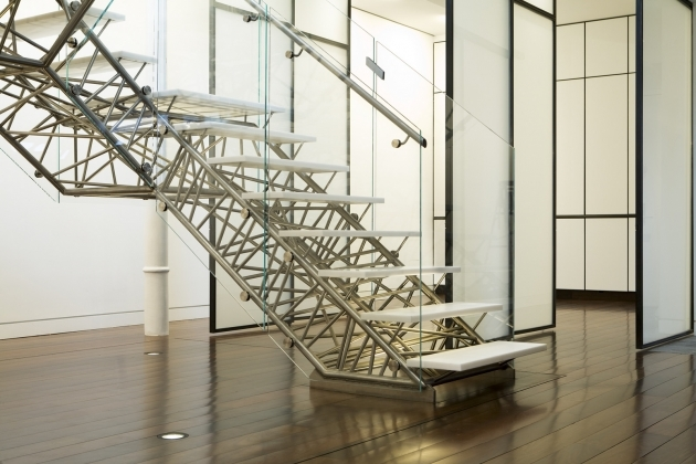 Staircase Steel Railing Designs With Glass Modern Design Ideas Picture 60