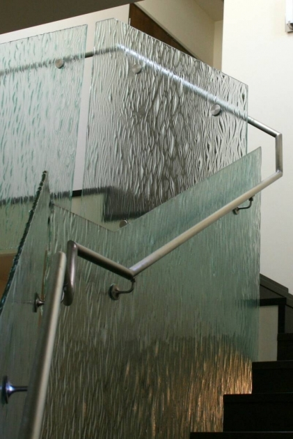 Staircase Steel Railing Designs With Glass Modern Ideas Picture 83