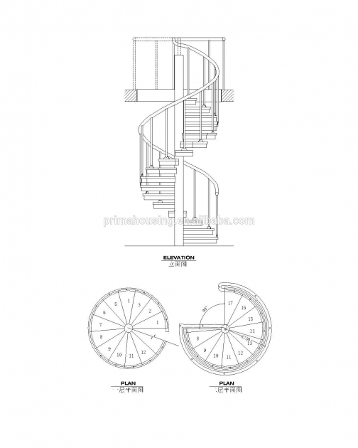 Standard Spiral Staircase Dimensions Stainless Stair Garden Pics 84