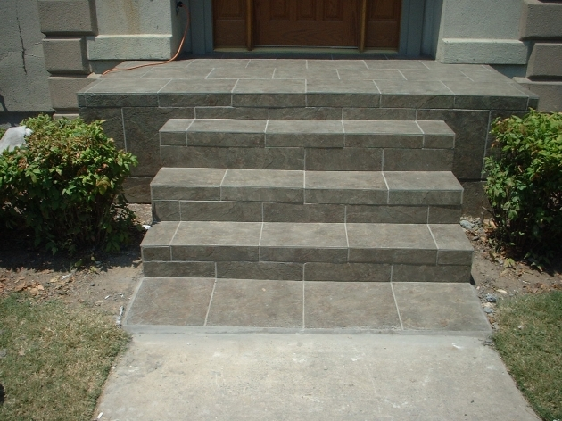 Tiles For Stairs Outdoors Backor Front Door Steps Pics 93