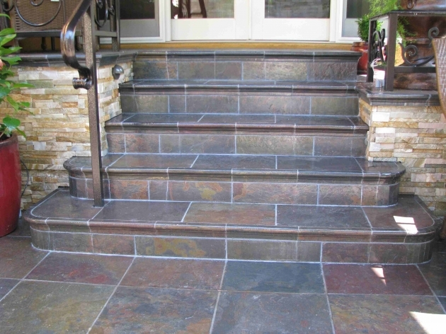 Tiles For Stairs Outdoors Front Steps Picture 42