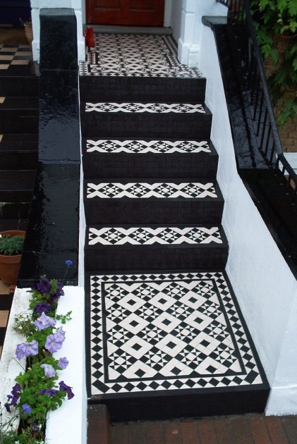 Tiles For Stairs Outdoors On Pinterest Mosaic Tile Pictures 11