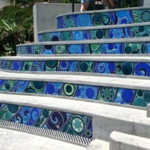 Tiling Stairs with Ceramic Tiles