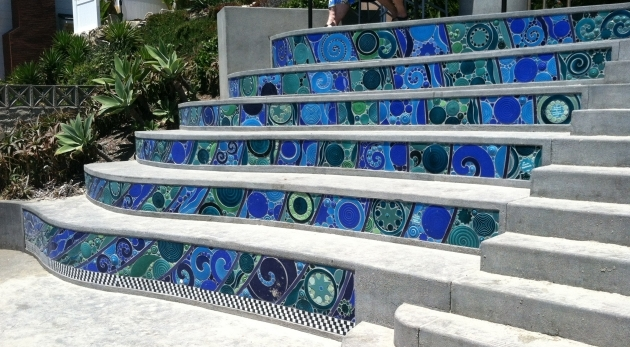 Tiling Stairs With Ceramic Tiles Laguna Stair Risers Bartels Pics 62