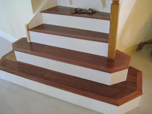 Tiling Stairs With Ceramic Tiles Lay Laminate Wood Flooring On Stair Pics 13