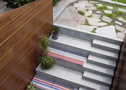 Timber Stairs Outdoor