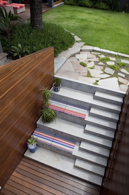 Timber Stairs Outdoor Patio Stairs On Pinterest Stair Plan Pavers Photo 41