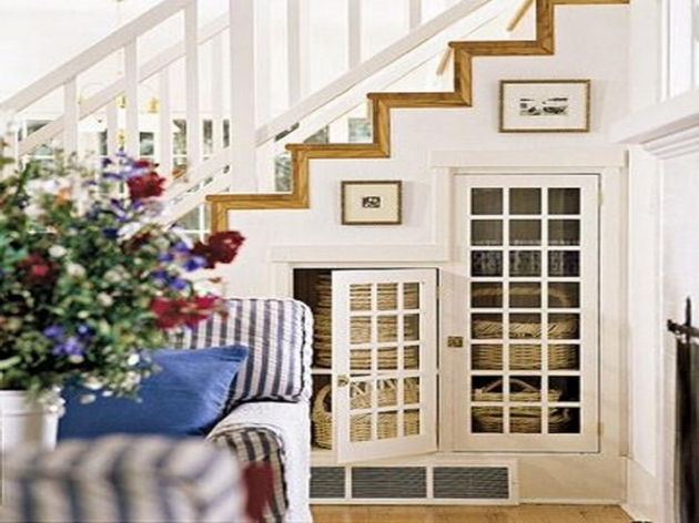 Under Stairs Closet Storage Ideas Basement Stairs Idea Pic 26
