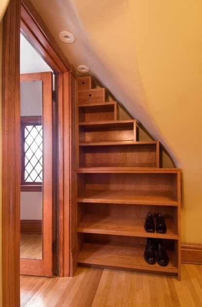 Under Stairs Closet Storage Ideas For Shoes  Photo 53