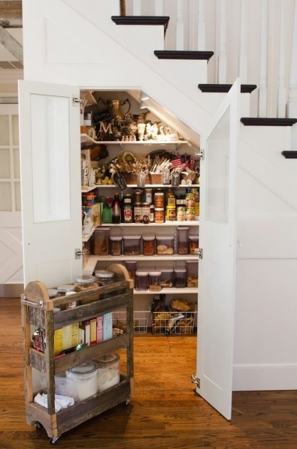 Under The Stairs Storage Ideas Pantry Picture 86