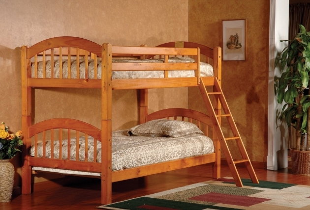 Wood Bunk Beds With Stairs Ideas Pictures 06