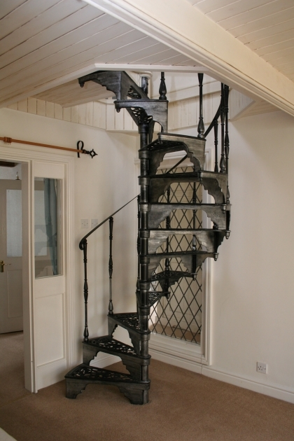 Wrought Iron Spiral Staircase Swirl Stair On Pinterest Pics 97