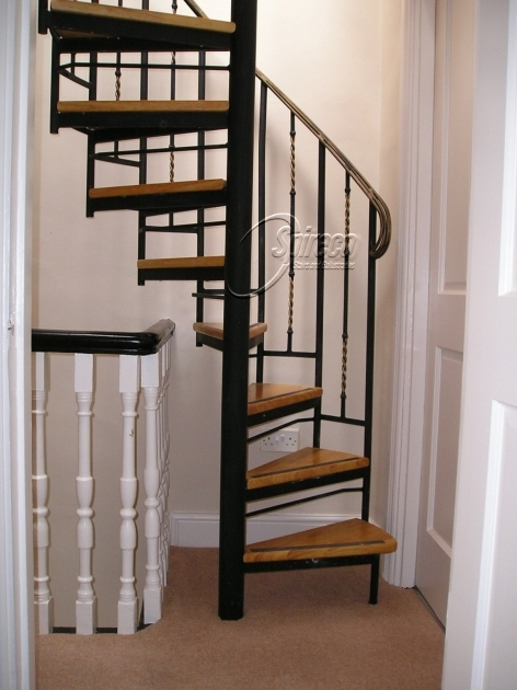 Attic Victorian Spiral Staircase Images 52