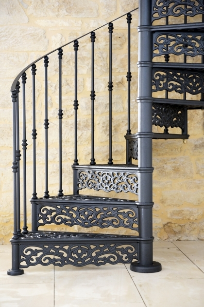 Beautiful Victorian Spiral Staircase Cast Iron Pictures 99