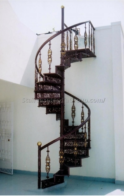 Cast Iron Best Design Victorian Spiral Staircase 73