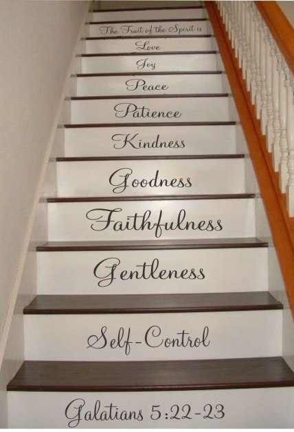 Decorative Stair Risers Galatians Decals Pictures 57