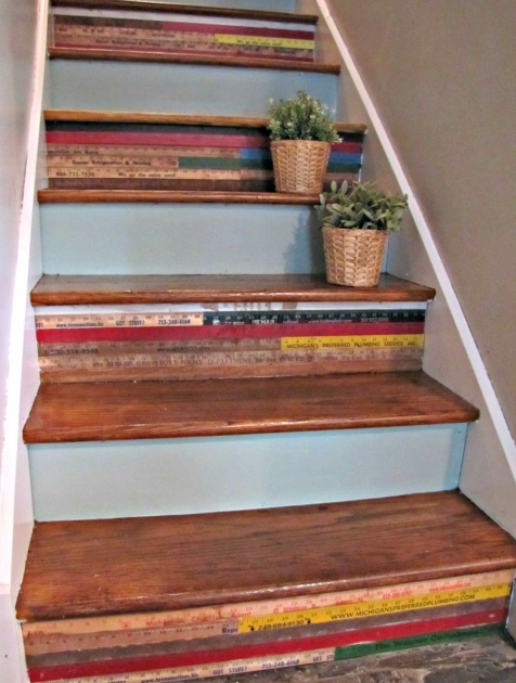Decorative Stair Risers Trendy Ideas Photo 89