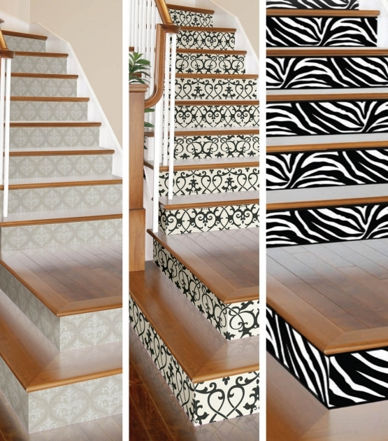 Decorative Stair Risers Wall Tile Sticker Image 22
