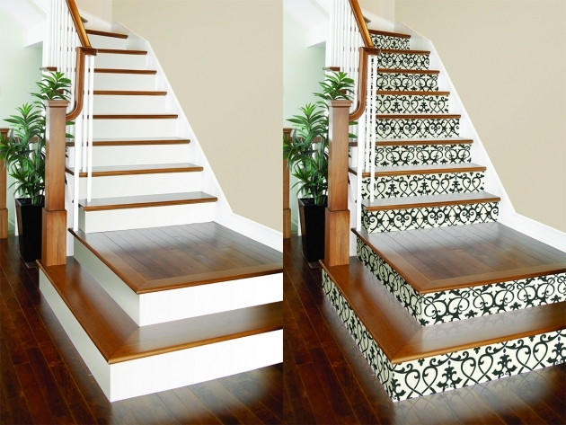 Decorative Stair Risers Wallpaper Photo 43