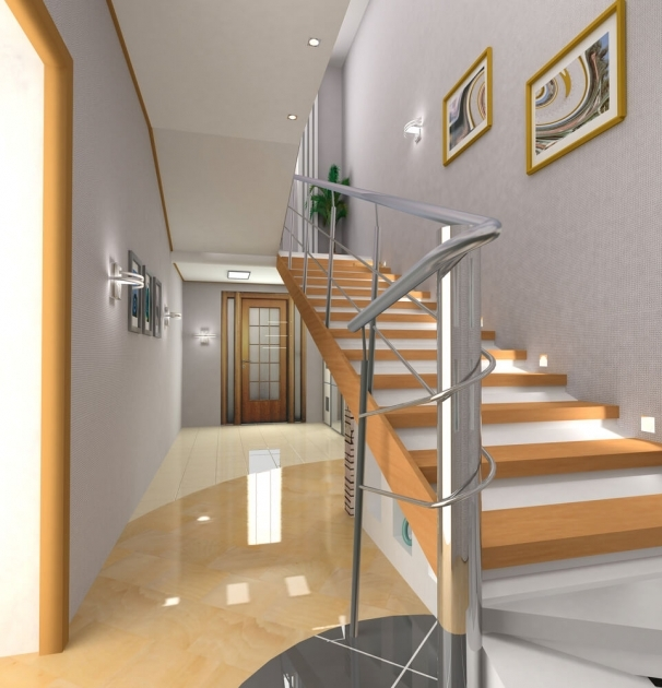 Designs For Stairs And Halls Custom Foyer Interior Designs Picture 97