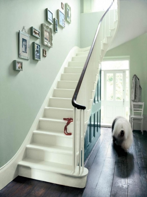 Designs For Stairs And Halls High Window Design Idea For Decor Narrow Hallway Wall Decor Images 09