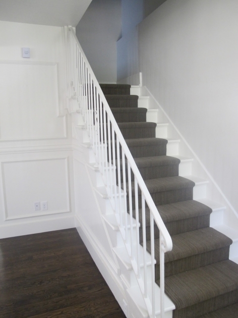Designs For Stairs And Halls Ideas With Carpet Photo 71