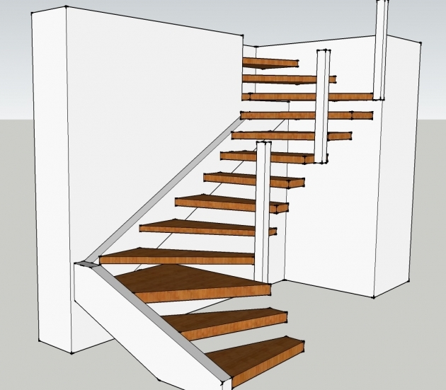 Floating Stairs Construction Architect Engineer Pics 38