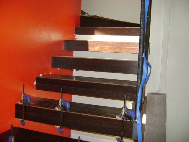 Floating Stairs Construction Mid Project Image 20