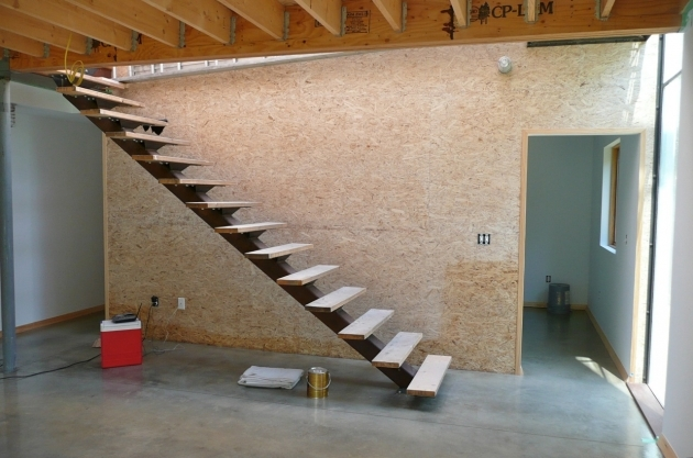 Floating Stairs Construction Open Stairs Center Stringer Pictures 63