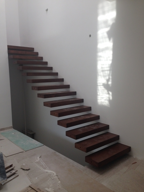 Floating Stairs Construction Simple Pictures 76