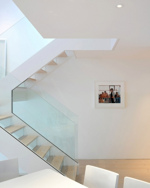 Glass Stairs Railing Chic Pics 25