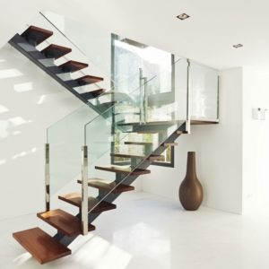 Glass Stairs Railing