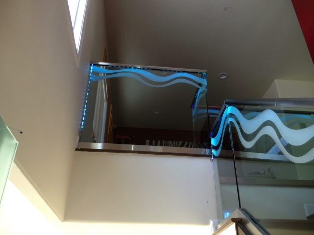 Glass Stairs Railing Interior Ideas Image 52