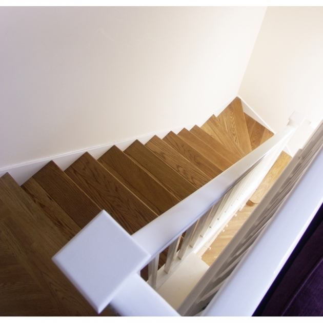 Oak Stair Treads Prefinished Cladding Straight Stair Kit Picture 85