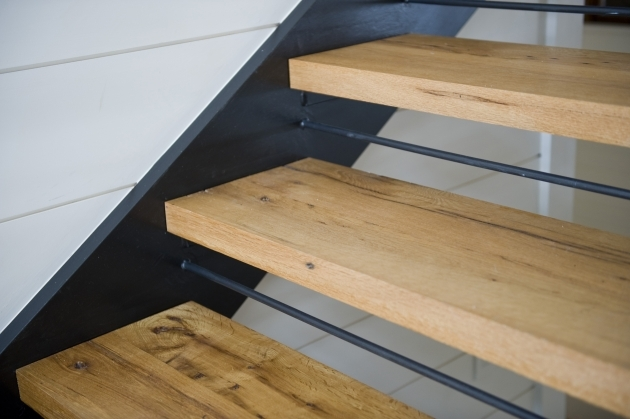 Oak Stair Treads Prefinished Private Residence Pics 46