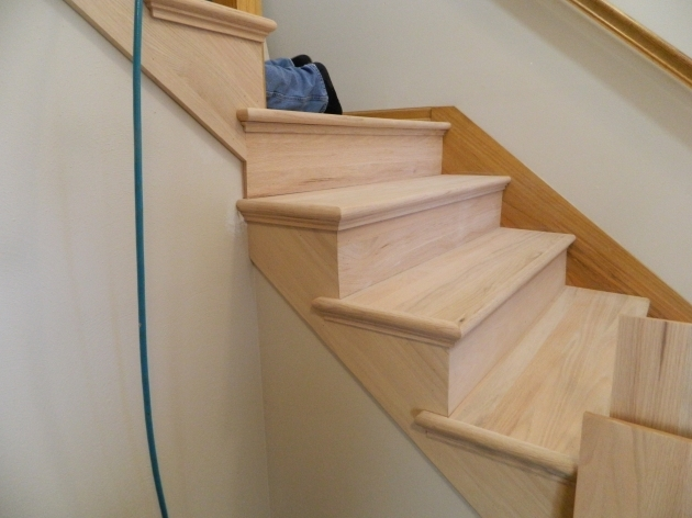 Oak Stair Treads Prefinished Staircase Sanded Hardwood Floors Pictures 98
